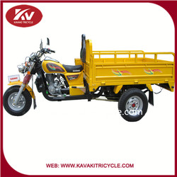 2015 KAVAKI Brand in guangzhou factory hot sale 150cc three wheel cargo motorcycles with good quality and cheap price