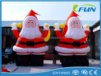 lighted santa claus outdoor christmas decorations/santa claus door decoration/movable santa claus decoration