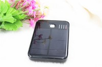 wholesale 5000mah solar charger power bank with two USB interface