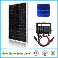 High efficiency 320W Monocrystalline solar panel for solar power system