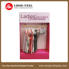 Commercial Sectional Display Furniture paper display case for clothing