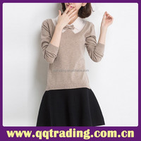 quality cashmere sweater woman 2015 sweater knit wear for women winter wear
