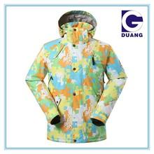 2015 new style snow jackets ski jacket colorful ski jackets