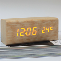 Brand new round led wall clock with CE certificate