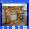different types of gas fireplace mantel in stock