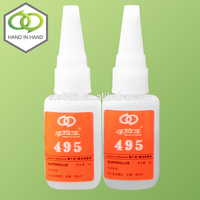 Hot selling loctit 401 cyanoacrylate glue/adhesive with high quality