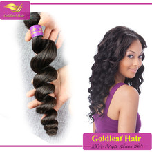 Wholesale in Miami 100% malaysian loose wave virgin hair weaving weft hot selling