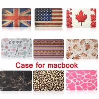2015 Newest Folio Plastic Case for Macbook Air 13.3 inch