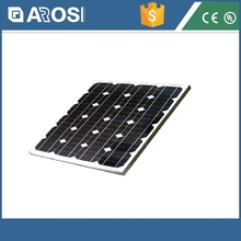 High efficiency Monocrystalline 60w flexible solar panel