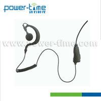 Electric shock shield 2 way communication headset for TK-320,TK3307,TK3207(PTE-300)