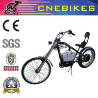 Al alloy harley motorized bicycle 48V 1000W adult battery powered bikes for sale
