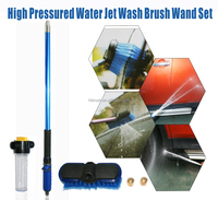 2015 newly design water zoom with brush, high pressured water gun