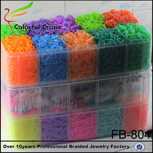 2014 wholesale diy crazy loom rubber bands, loom for bracelet