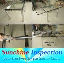 Furniture Quality Control and Inspection Service in Shenzhen, Foshan, Shunde, Guangzhou/ Full -Time QC Team Sunchine Inspection