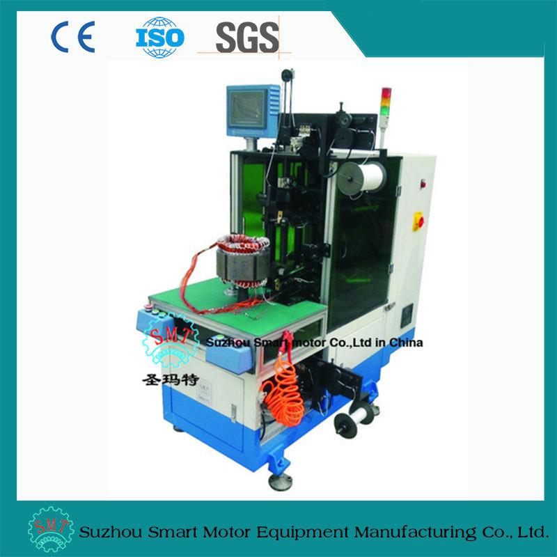 Stator braiding lace machine electric motor coil winding for Electric motor winding machine