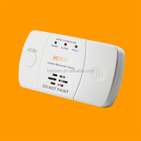 HEIMAN Home security table placement standalone CO alarm with LCD display operated by DC2*1.5V Batteries