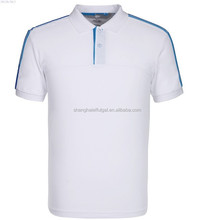 2015 Pure cotton Mens tennis wear with quick dry moisture transfer functioin