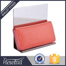 Top quality fashion style counter wallet display