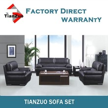 Foshan High Back Italy Leather Recliner Sofa Set
