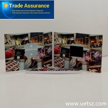 Best and creative 2.4'' 2.8'' 4.3'' 5'' 7'' 10.1'' inch promotional video card lcd video card