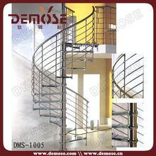 decorative glass stairs price spiral design