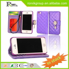 cartoon character cell phone case leather with great price for iPhone 4G