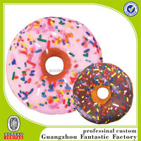 doughnut shape cushion pillow/custom food cushion pillow
