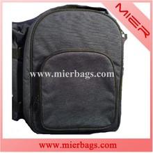 muticolor outdoor picnic bag with big pocket