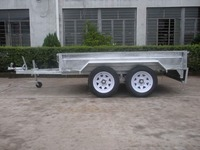 .Utility trailer checker plate floor by welding robot10X 5ft