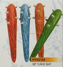 Inflatable PVC Cave Bat for advertising, plastic toy cricket bat