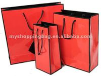 170gsm Customized different types of paper bags for gift