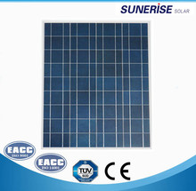 18V 70W Polycrystalline Silicon PV solar panel price