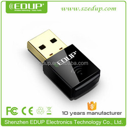 EDUP Best Seller 802.11 n/g/b 300Mbps Mini driver-free wireless N WIFI usb adapter EP-N1557