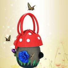 Ameiliyar mush shape colorful dreamlike bag clutch handbag 9710