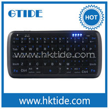 Universal smart phone mini bluetooth wireless keyboard for macbook pro unibody 13'' a1278 with led and power bank PK001