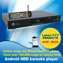 27000 Vietnamese & English Live songs include 4TB HDD +Android HD karaoke player with HDMI 1080P air KTV build in AGC/AVC