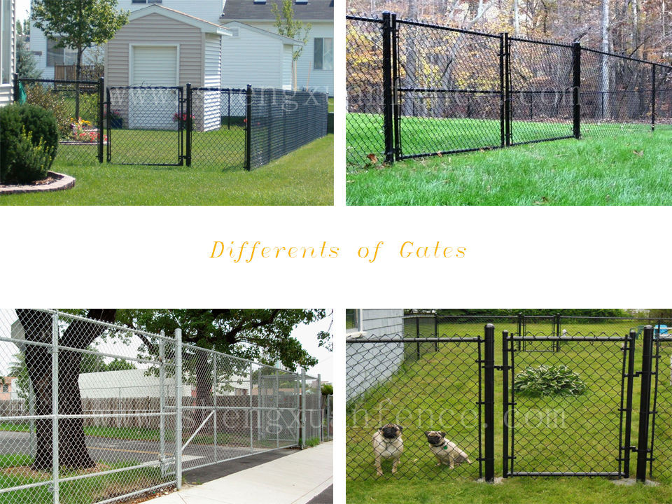 High quality residential chain link fence privacy fabric