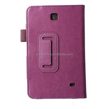 For Samsung Galaxy Tab 4 T230 Leather Tablet Cover Case,Flip Folio Case for Samsung T230 Case