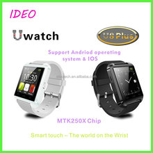 2015 best design Bluetooth Genuine Silicon Smart Watch For iPhone/android Phones