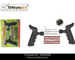 YS-Q621D 8pcs Tubeless Tire Repair Tools Kit, Tyre Repairing Tools, Tire Puncture Repair Kit