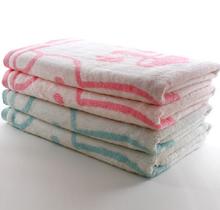 2015 high quality fashion baby products, organic bamboo yarn dyed jacquard bath towels