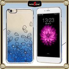 Custom Fit Diamond Setting Slim Plastic Case For Iphone 6 Plus