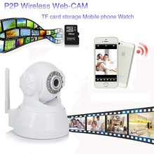 Factory lowest price convert analog cctv to ip camera with two way speaker