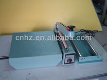 polyester, plastic bag sealer with cutting and tray