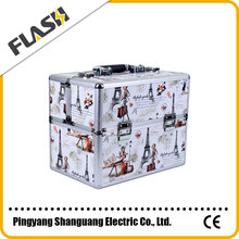 Wholesale Cosmetic Aluminum Professional Beauty Case Makeup Vanity Box