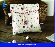 Nice Packing Bag Cotton Calico Envelope Bags With Button For Customized