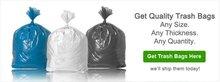 Trash & Industrial Bags: