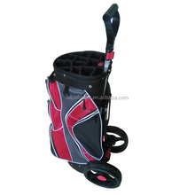 2015 Manufacturer Price Nylon Material Golf bag with wheels