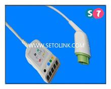 Fukuda Densi 12 Pin ECG / EKG Trunk Cables Wholesales Price