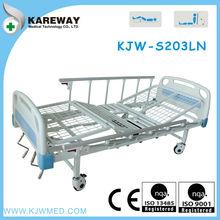 dos manivelas cama de hospital manual de equipos médicos para personas de edad con wc